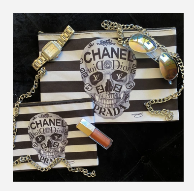 Couture to the bone Accessory Pouches