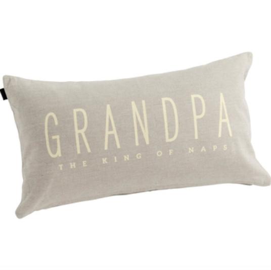 Grandpa The King Of Naps Pillow