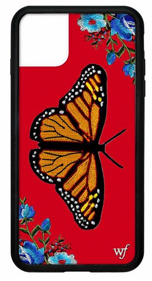 wf Butterfly iPhone Case