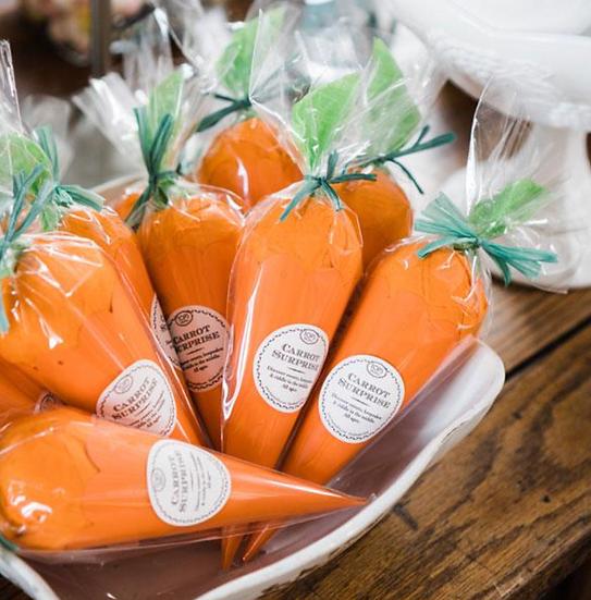 Carrot Surprise Cone