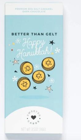 Happy Hanukkah Sweeter Cards