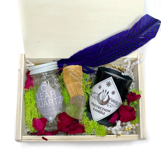 Good Vibes and Protection Gift Box - Spitfire Girl