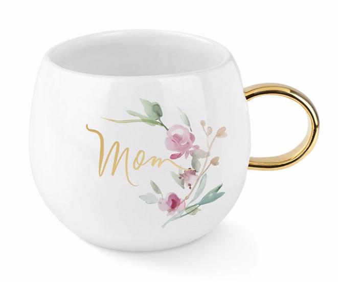 Garland Round Mom Mug