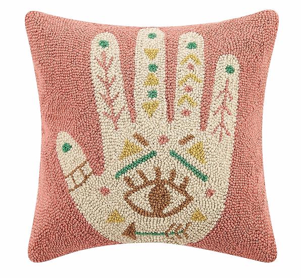 Boho Hand Hook Pillow