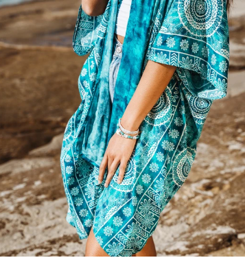 Bimini Mandala Kimono