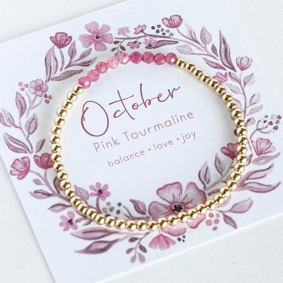 October Birthstone Bracelet