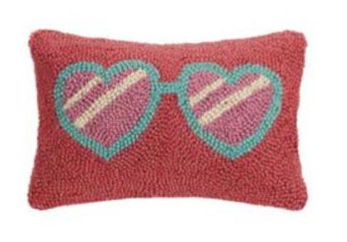 Heart Eyes Pillow