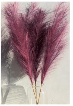 Faux Pampas Grass - Assorted Colors