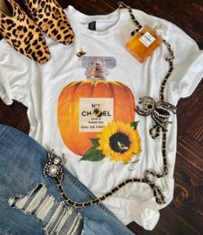 Pumpkin Spice Tee Shirt
