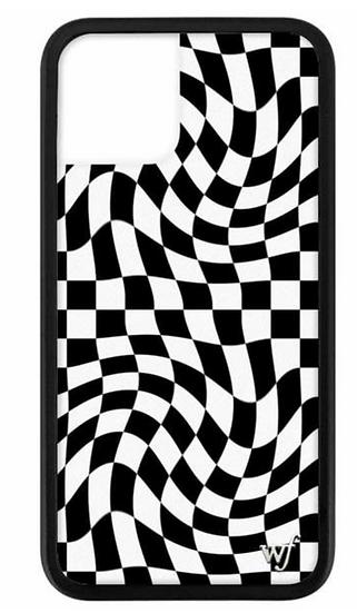 wf Crazy Checkers iPhone Case