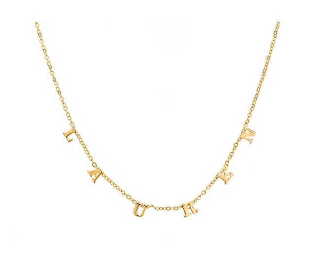 Custom Monogram Necklace