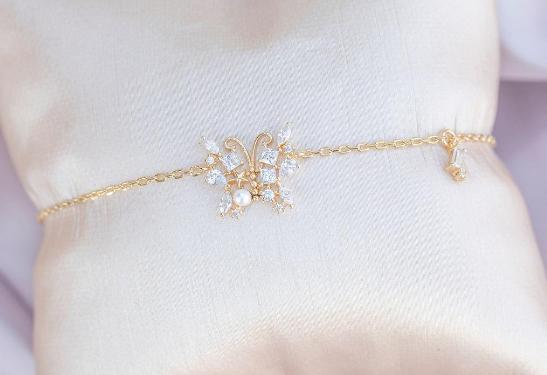 Enchanted Butterfly Bracelet