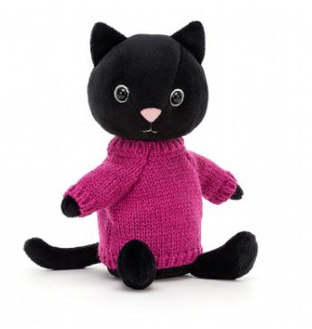 Fuschia Knitten Kitten - Jellycat