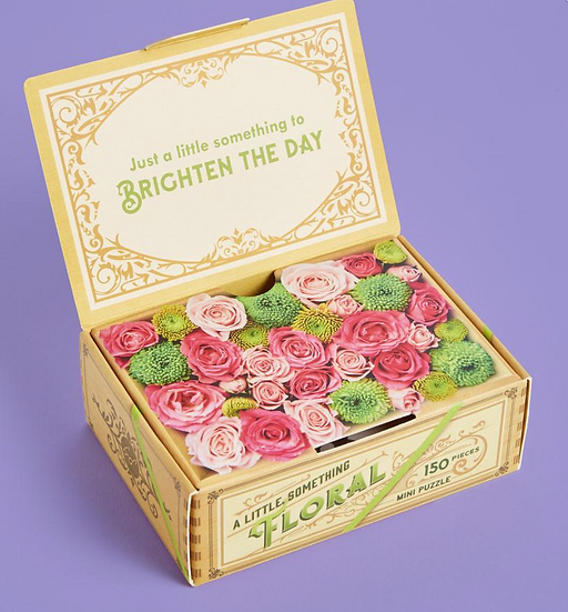 A Little Something Floral: 150-Piece Mini Puzzle