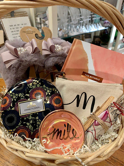 Smile Gift Basket