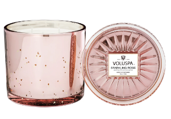 Voluspa Sparkling Rose Grande Maison Candle