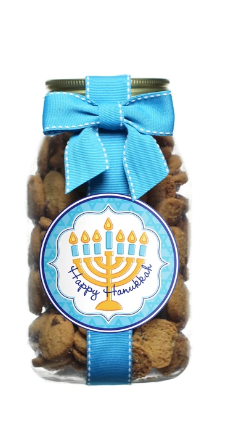 Chocolate Chip Hannukah Cookies