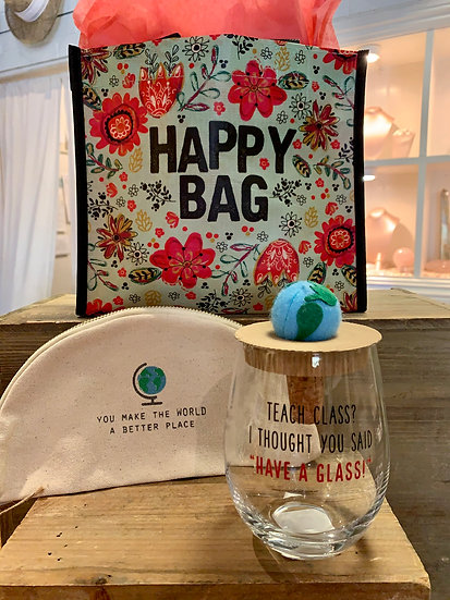 Teach Class or Have a Glass? Happy Bag