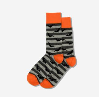 Men's Bats Crew Socks