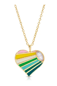 Candy Crush Necklace - Rainbow
