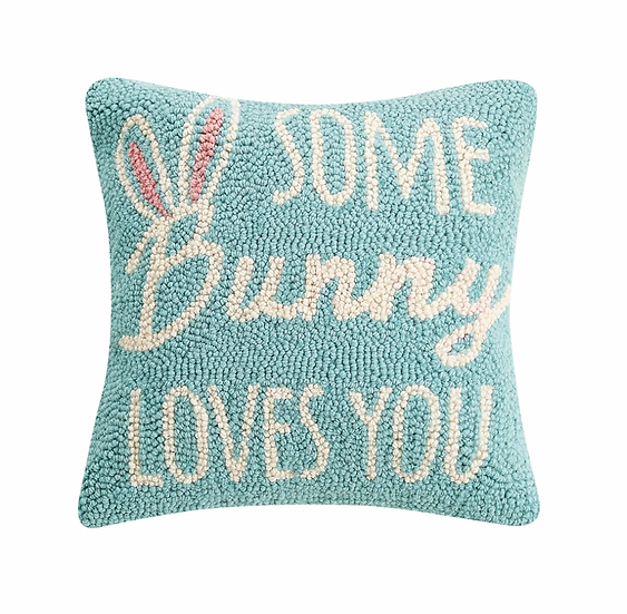 Some Bunny Loves You Pillow