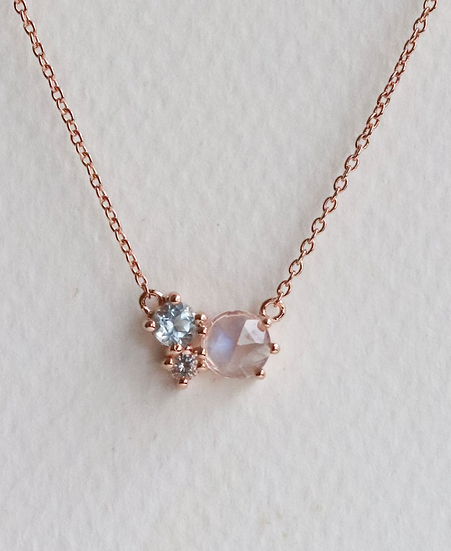 Jayne Necklace - Moonstone