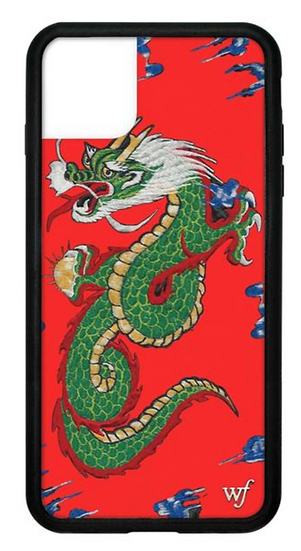 wf Red Dragon iPhone Case