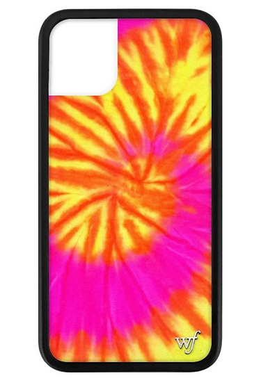 wf Swirl Tie Dye iPhone Case