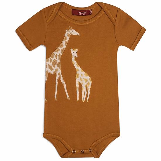 Giraffe Applique One Piece