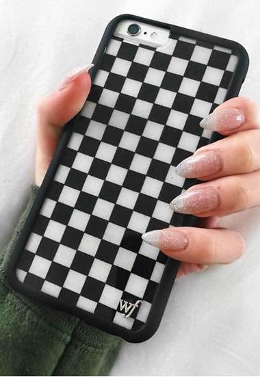 wf Check Plz iPhone Case