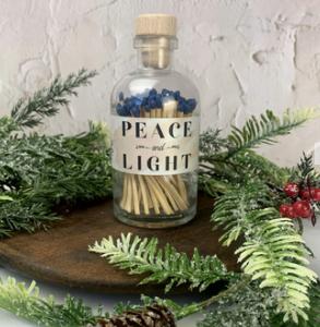 Peace and Light Hanukkah Vintage Apothecary