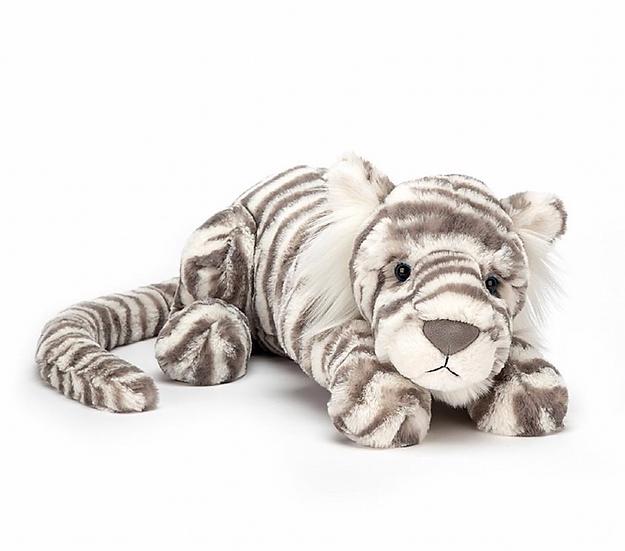 Jellycat Sascha Snow Tiger