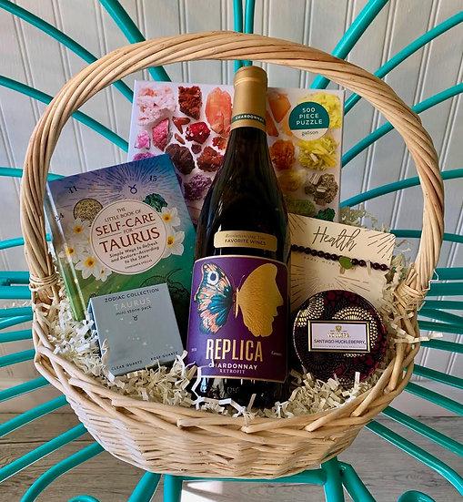 Self Care Horoscope Gift Basket