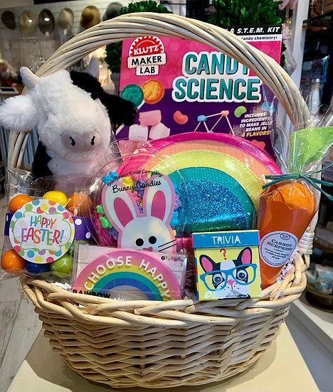 Deluxe Rainbow Easter Basket