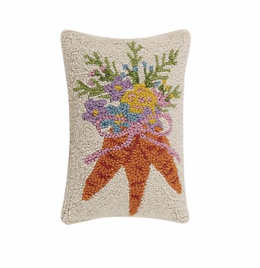 Carrot Bouquet Pillow