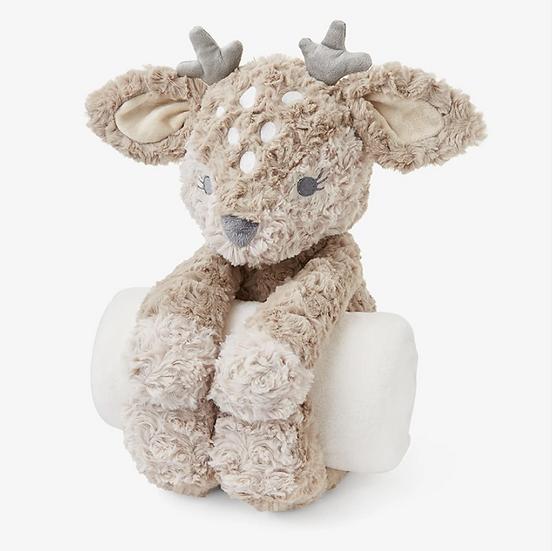 Swirl Fawn Bedtime Hug Plush Toy