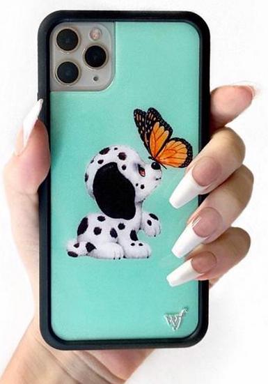 wf Dalmatian iPhone Case