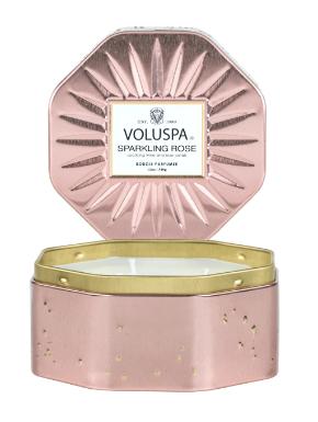 Voluspa Sparkling Rose 3 Wick