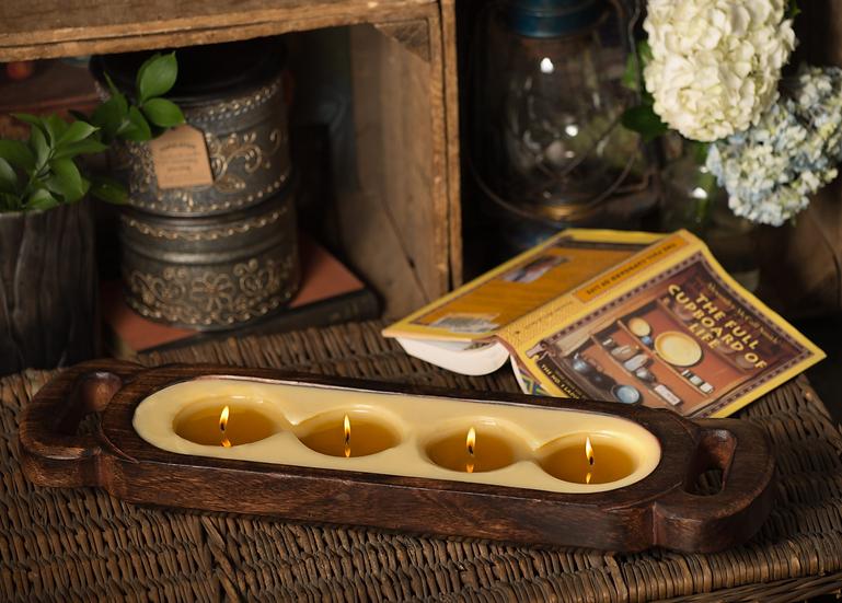 Himalayan Mango Wood Candle Tray