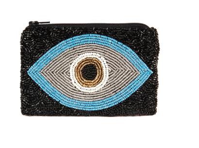 Blue Evil  Eye Coin Purse