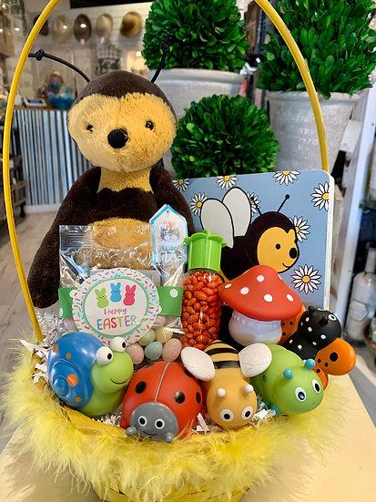 Baby Bee Basket