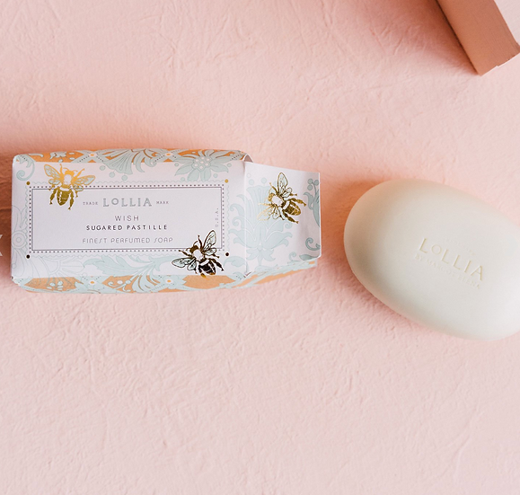 Wish Shea Butter Soap by Lollia