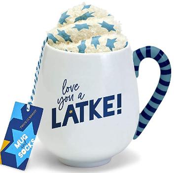 Love you a Latke! Mug and Socks