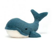 Jellycat Wally Whale