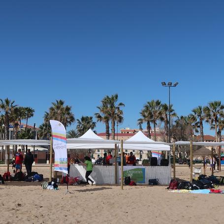 CADU : Voley-playa en la Malvarrosa