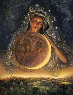 Nosso feminino Avô Lua