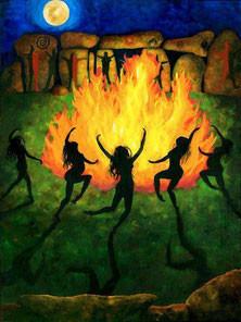 Fogo sagrado feminino