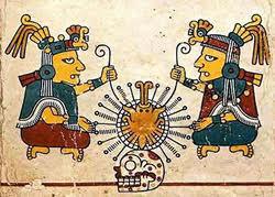 O casal criador Ometecuhtli e Omecihuatl