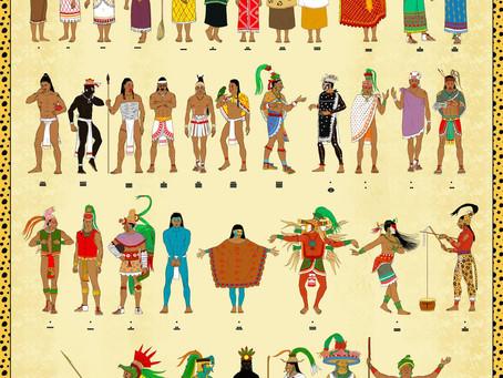 Como se vestia o povo Maia