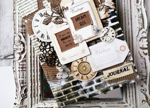 Vintage Journal -  your secret book!